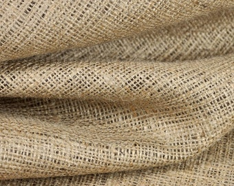 60 Inch Natural Burlap Fabric - by the Yard