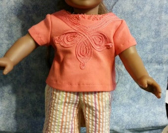 """18"""" doll summer outfit"""