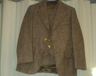 3pc. GEOFFREY BEENE- wool boys suit