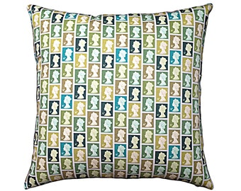 Queen of Stamps Cushion / Pillow