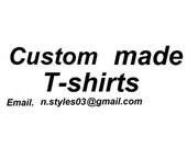 Personalized womens/mens Tshirt custom made Tees