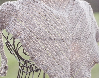 SIMPLE RUFFLES SHAWL
