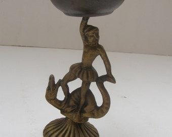 Vintage Marvelous Art Statue Sculpture Bronze Figurine