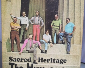 The Hymnsmen, Sacred Heritage, Vintage Vinyl Record Album, Religious Music, Men's Singing Group, Vinyl LP, Gospel Music, 1960