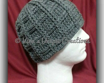 Crochet men beanie hat, crochet men beanie, crochet men hat, crochet hat, crochet beanie, men hat, men beanie, made-to-order