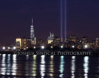 NYC Memorial Lights