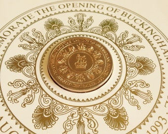 Commemorative Medallion Buckingham Palace