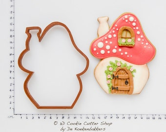 Toadstool House Cookie Cutter