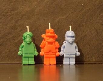 Ninjago birthday candles x 6
