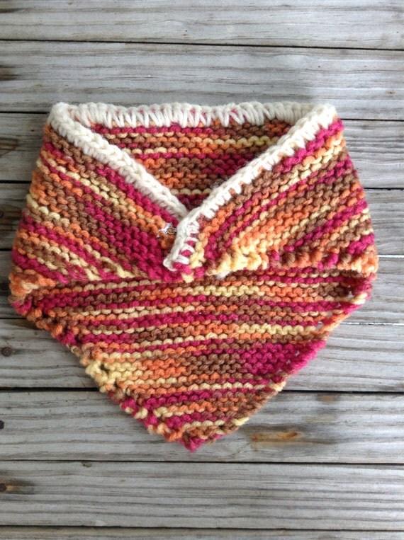Knitting Pattern For Dolls Shawl : Hand Knit 18 Doll Shawl