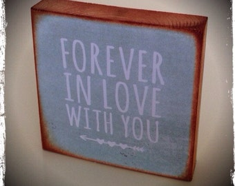 Forever in love with you..