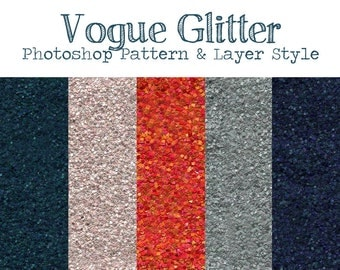 Vouge Glitter Photoshop Pattern and Texture for Graphic Designers, Photographers, and Digital Scrapbookers