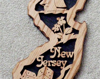 New Jersey State Plaque