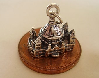 Sterling Silver St Pauls Cathedral Sterling Silver Charm