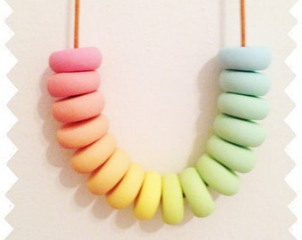 Fruity Tingle - Polymer Clay Necklace