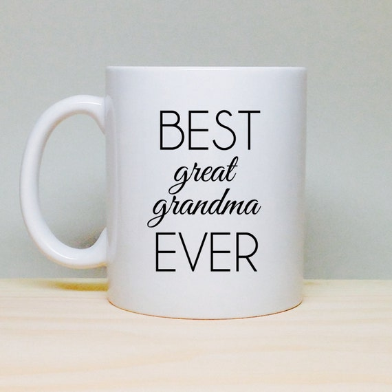 Coffee mug gift gift for great grandma birthday gift for Birthday gifts for grandma from granddaughter