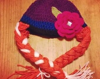 Anna - Frozen Winter Hat