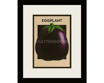 eggplant kitchen accessories aubergine print etsy 3534
