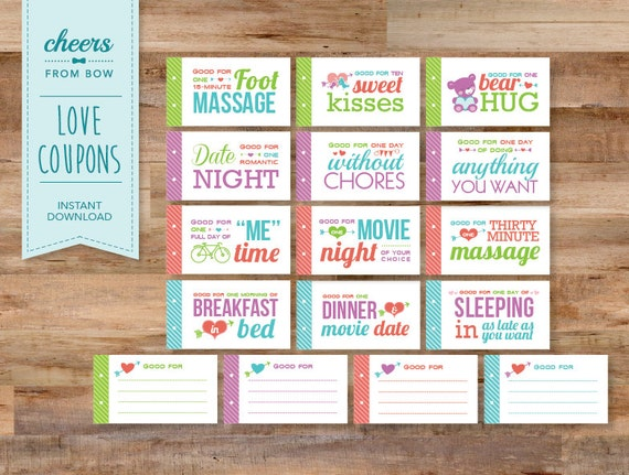 printable romantic coupons for him