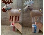 Just a little Reindeer Christmas present block
