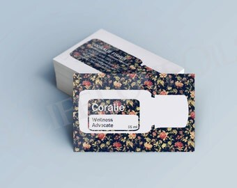 Fleur Essential Oil Cards - Business Cards