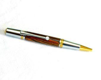 Wood Majestic Squire Twist Pen