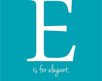 E - Initial Print