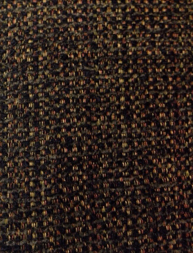 Black Mingled Woven Upholstery Fabric Sofa Fabric