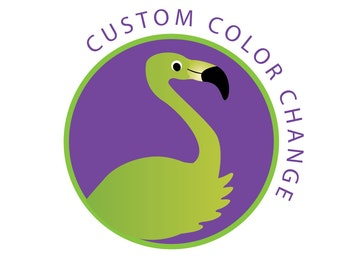 Custom Color Change of Your Premade Logo Design, Pre-made Shop Banner or Business Card