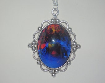 Large Enchanted Forest Necklace