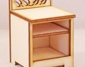 Leaf Bedside Cupboard Hutch Kit