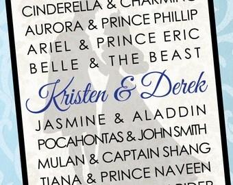 Princess Name CUSTOM Wall Art