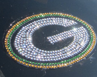 Greenbay Packers Car Sticker Decal Bling