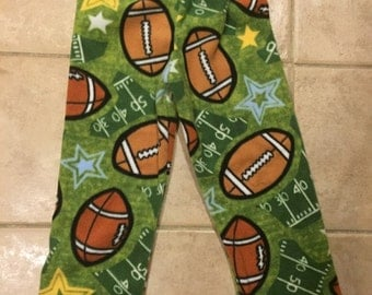 Football  Fleece PJ Pants Sz S (4/5)
