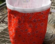 Sookie's Red Bandana Bag