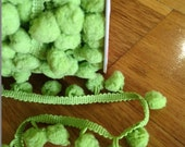 Riley Blake Pom Pom Trim Regular Lime (1 Metre)