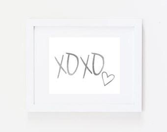 Xoxo Wall Art Etsy