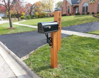 Mailbox support music Clef