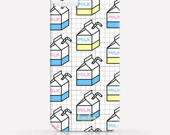 Cute Milk Cartons iPhone 6 Plus Case iPhone 6 Case iPhone 5 Case iPhone 5c case 2 in 1 Case Samsung Galaxy S6 Case iPhone Hard Case