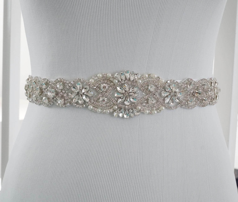 Wedding Sash Belt Bridal Belt Sash Belt Wedding Dress Sash
