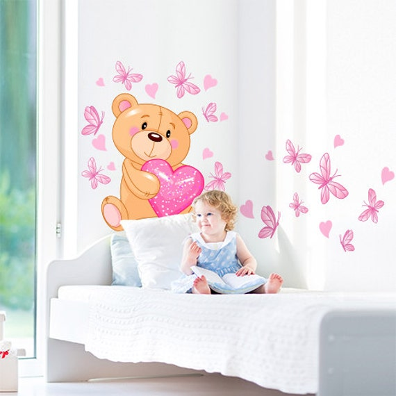 Articoli simili a r00011 adesivo murale per bambini - Stickers per pareti cameretta bambini ...