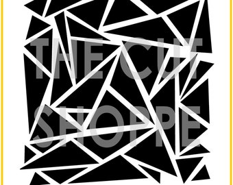 The Geometric Graffiti background cut file is available in 8.5x11 and 12x12 sizes, for your scrapbooking and papercrafting projects.