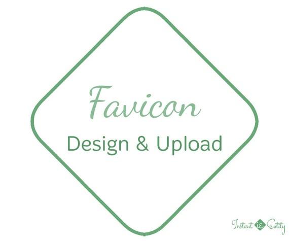 Custom Favicon Design and Install / Upload   Blogger Favicon   WordPress Favicon   Wix Favicon   Squarespace Favicon   Browser Icon