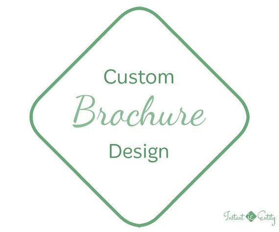 Custom Brochure Design | 2 sided | Bi-fold Tri-fold Z-fold | Print-Ready | Flyer | Brochure Template | Vacation Brochure | Travel Brochure