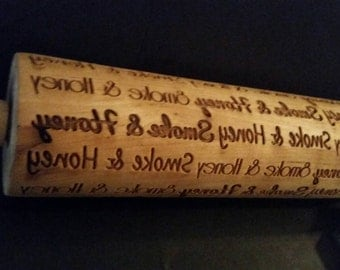 Multi-font Personalized Rolling Pin