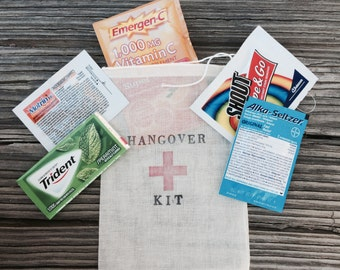 15 Hangover kit bags, (bags only) complete all inclusive hangover bag, hangover bag, pre-made hangover kit, complete hangover bags, welcome