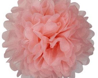 Tissue Paper Pom Pom 12inch Carnation Pink TPP120081 Just Artifacts Brand