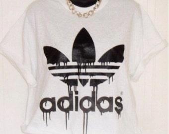 adidas t shirt crop