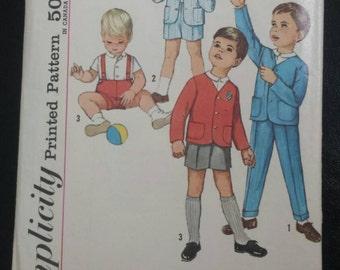 Vintage Simplicity Toddler Pattern 4913