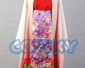 Vocaloid Senbon Sakura Meiko Cosplay Kimono Costume